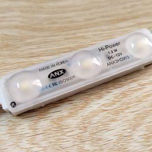 LED 3 bóng Hàn Quốc ANX màu trắng, chip Hi-Power